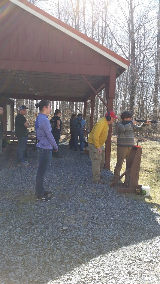Shooting Rifles at Camp Minsi