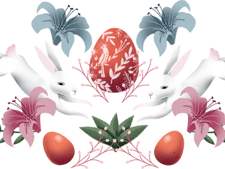 Easter Egg design and Colouring !