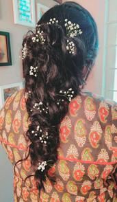 Boho braids closeup