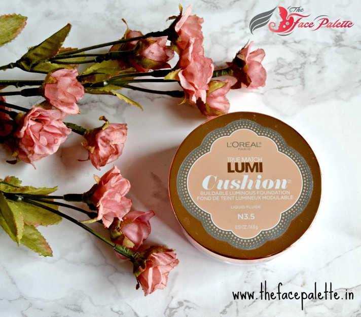 Review : L'Oréal Cushion Foundation | Indian Makeup and Beauty Blog | The Face Palette