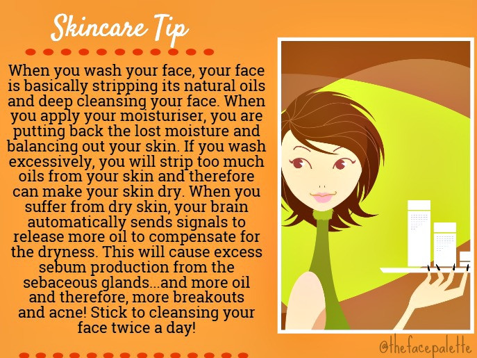 Skincare Tip 2 - Excessive Cleansing of your skin | Makeup Beauty Blog