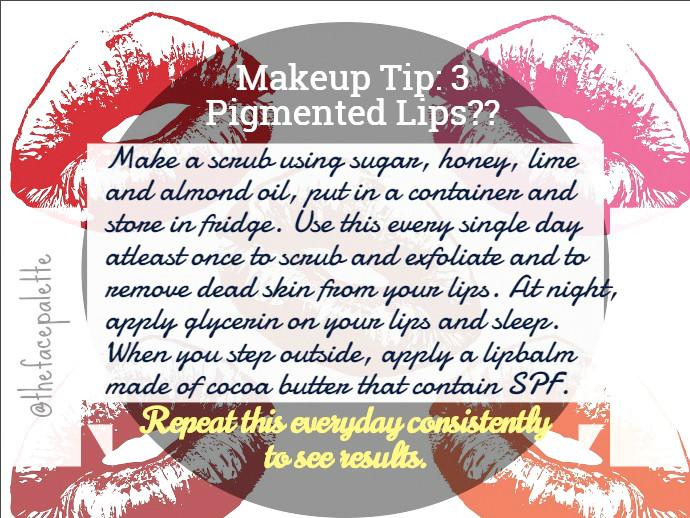 Makeup Tip 3 - Pigmented lips | Makeup Beauty Blog
