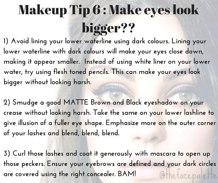 Makeup Tip 6 - Make your Eyes look Bigger | Makeup Beauty Blog