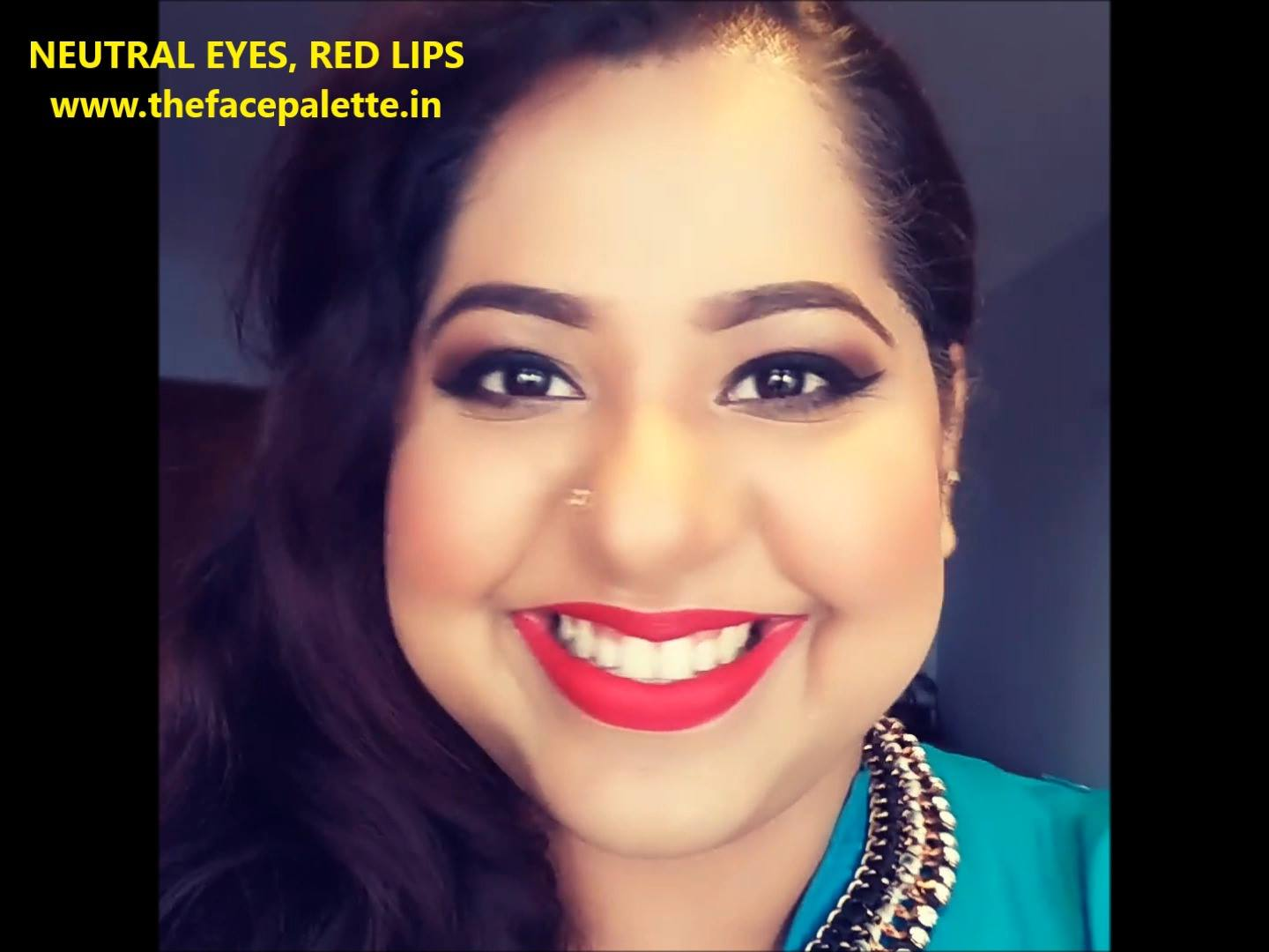 Neutral Eyes and Red Lips Clip!
