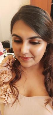 Glowing skin and fresh makeup routine pa