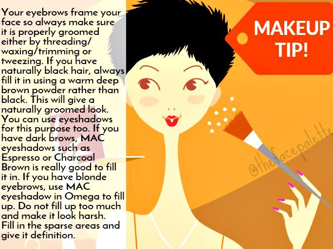 Makeup Tip 2 - Filling your Eyebrows   Makeup Beauty Blog