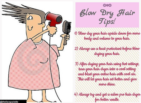 Haircare Tip 2 - Blow Drying Tips   Makeup Beauty Blog