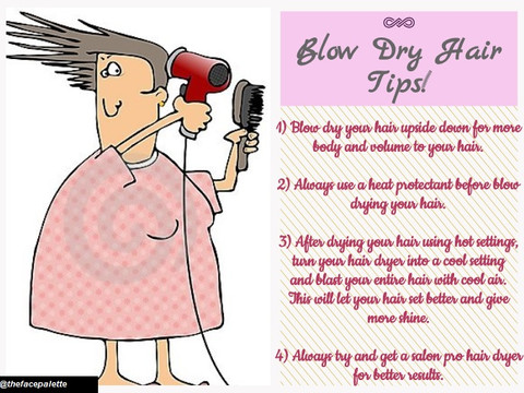 Haircare Tip 2 - Blow Drying Tips | Makeup Beauty Blog