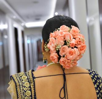 Bengali Bridal hair style