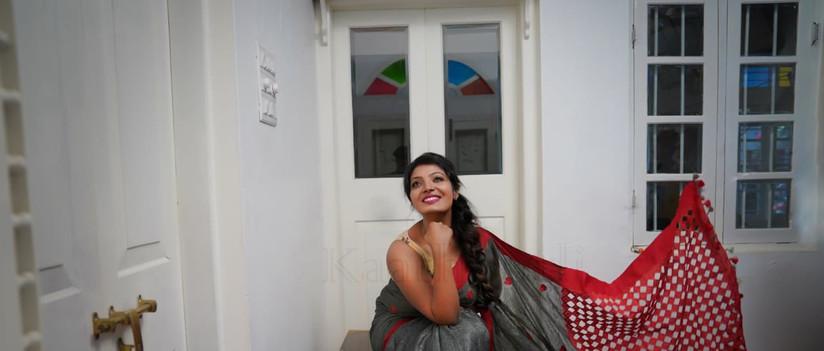 Saree draping course