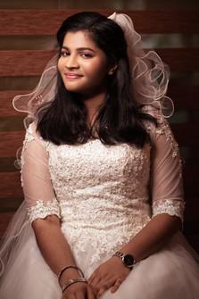 Neutral Christian bride