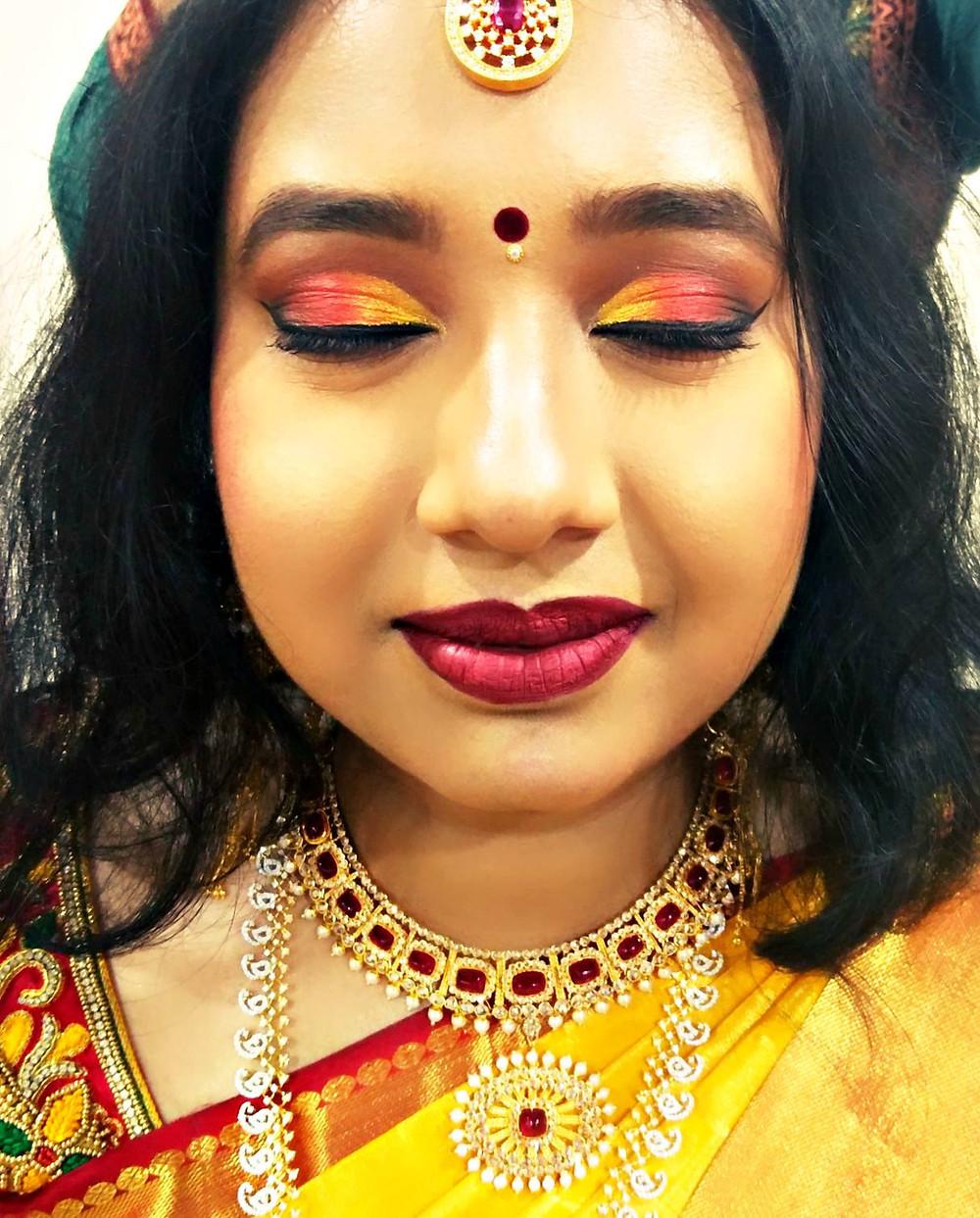 Natural Bridal Makeup By Lekshmi Menon