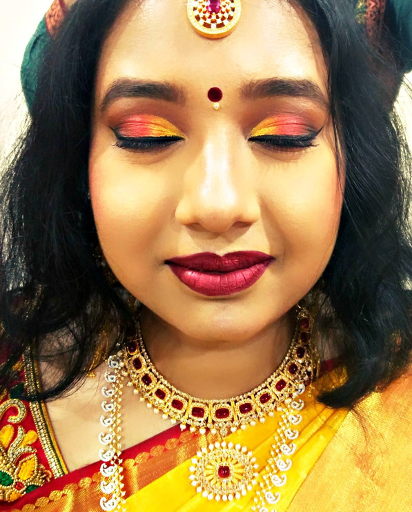 Bridal Makeup For A Traditional Kannadiga Hindu Bride A