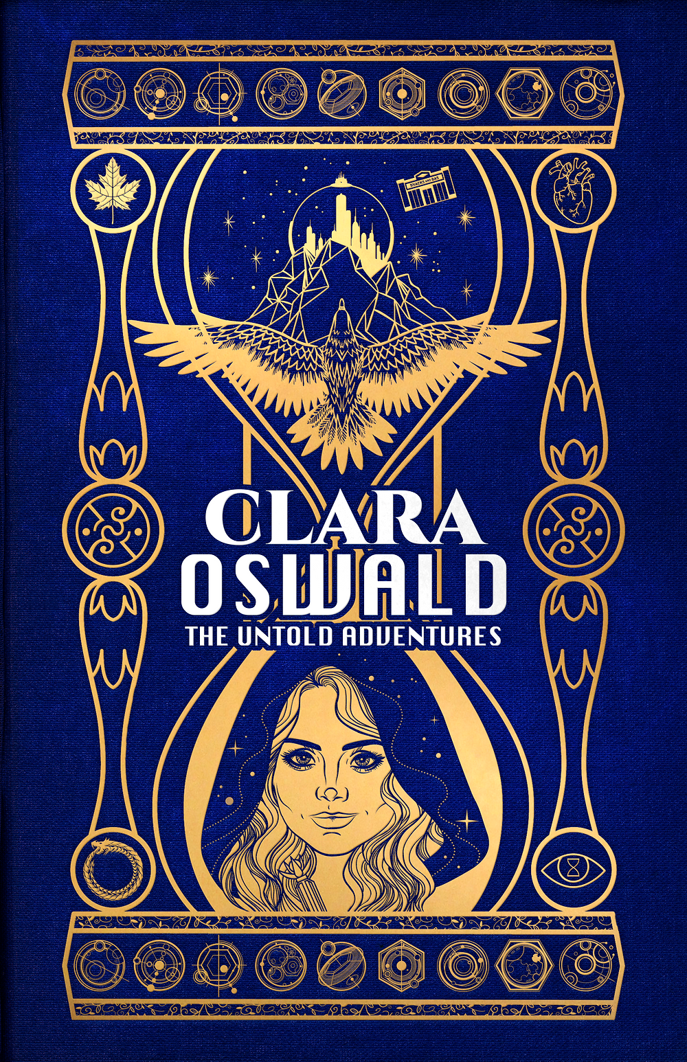 Series cover art with Clara