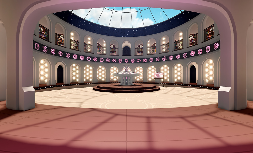 Header Image: wide shot of James Johnson's TARDIS design