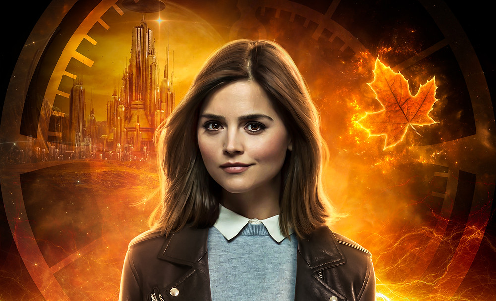 Header Image: Clara 'Out of Time' poster