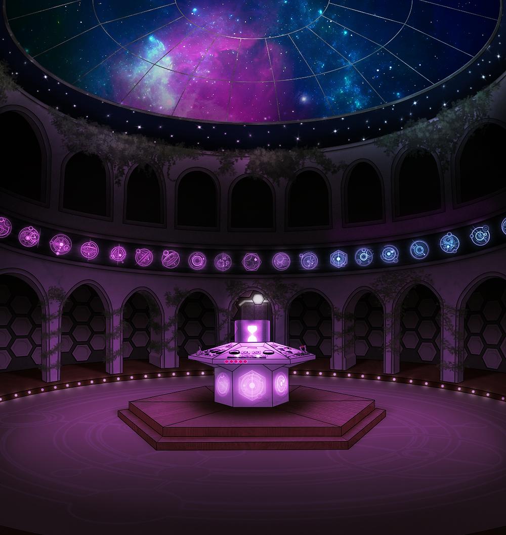 Ruth's TARDIS design (night)