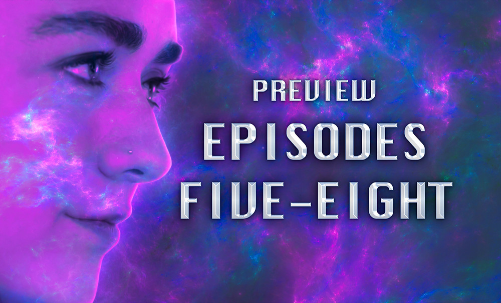 Header Image: Preview: Episodes Five-Eight with Me's face