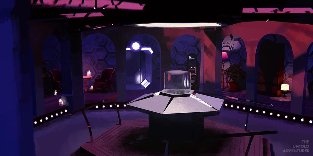 alphacentauriiswatchingyou's TARDIS design (night)