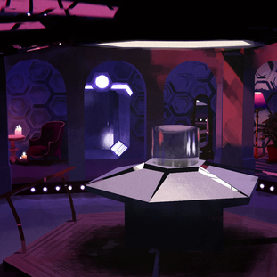 TARDIS Console Room Design