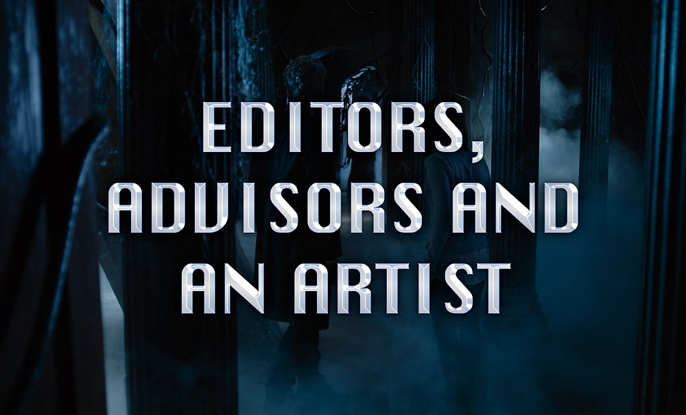 Header Image: Editors, Advisors and an Artist