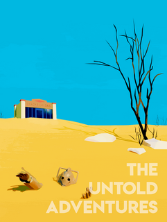 'Lost in the Desert' Poster