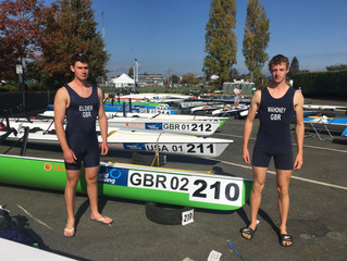 Guy Elder Competes in Coastal Rowing World Championships