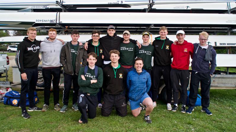 Senior Men 2019 BUCS Regatta Squad Photo