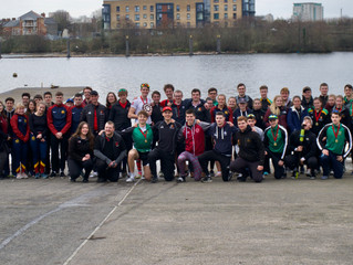 The First Welsh Universities Championship of Sculling
