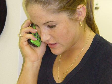 Le syndrome des accros du SMS