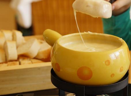 Manger équilibré selon ACIDOBASIC n'empêche pas de déguster une bonne fondue !