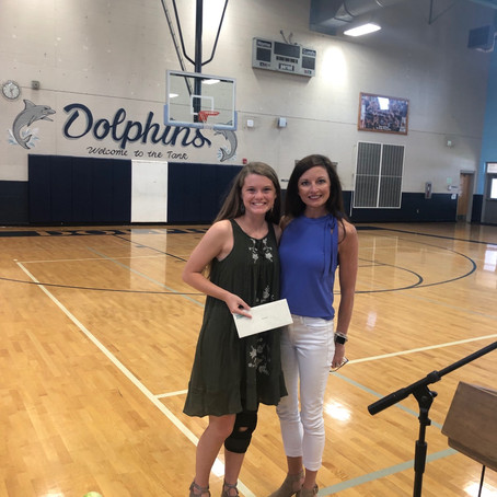 2019 Jensen's Heart of Gold Scholarship goes to...