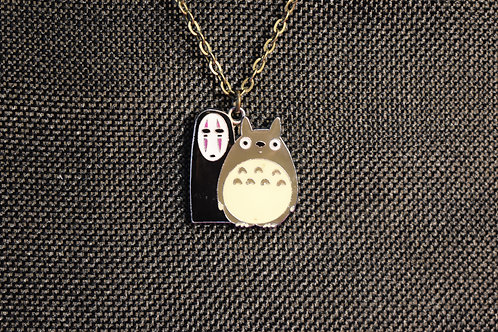 No Face and Totoro