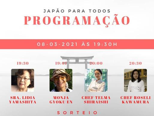 """Chef Telma Shiraishi participa da Live """"Japão para Todos"""""""