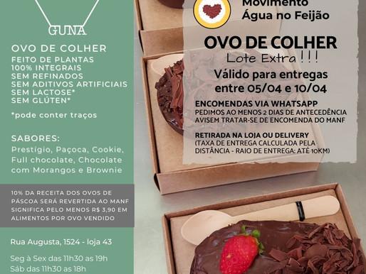 Parceria solidária em prol do MANF com chocolate da Guna Vegan