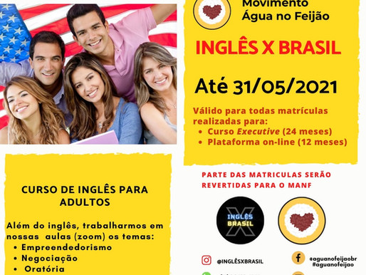 Parceria solidária do MANF com Inglês x Brasil