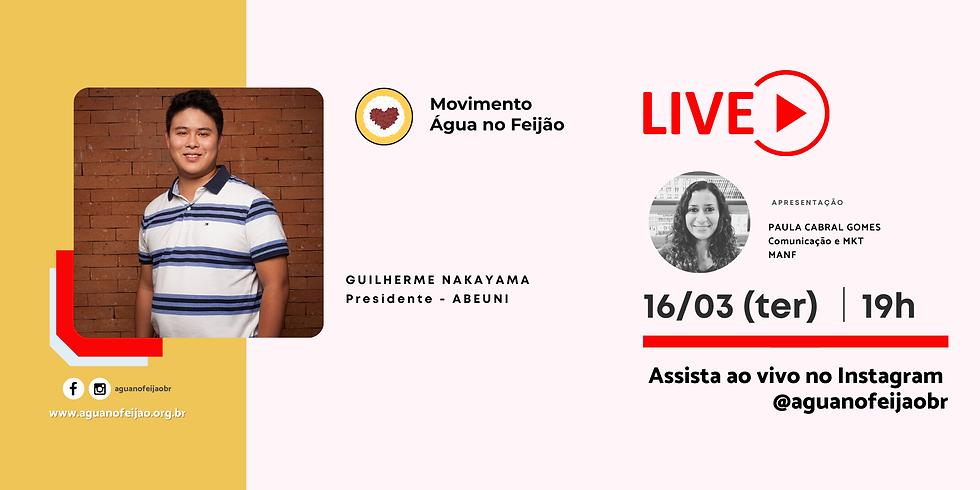 Live com Guilherme Nakayama - Abeuni