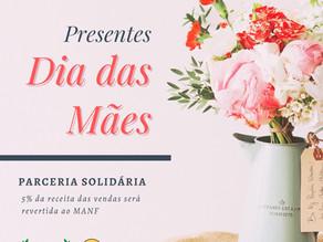 Campanha solidária do Dia das Mães com Pinhouro Garden