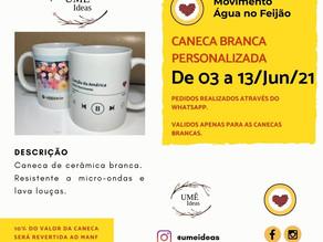 Ume Ideas lança campanha solidária de canecas personalizadas