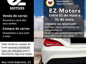 Campanha solidária do MANF com a EZ Motors
