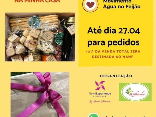 Campanha solidária do Dia das Mães com produtos do sítio Kusakariba!