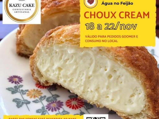 Choux Cream do Kazu Cake é a próxima campanha solidária