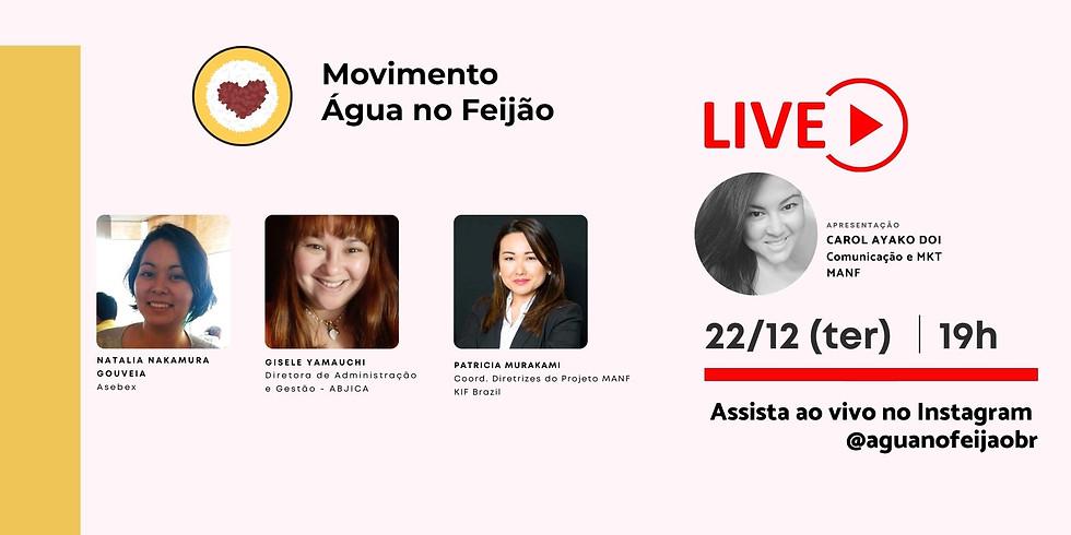 Live MANF - ABJICA, ASEBEX e KIF Brasil