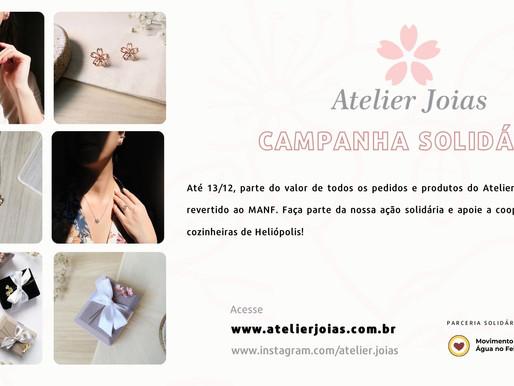 Atelier Joias apoia o MANF na Campanha Solidária dessa semana