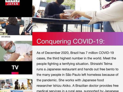 MANF é divulgado em especial da NHK World, emissora de TV do Japão