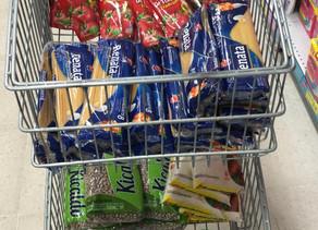 Movimento Água no Feijão recebe doação de clientes do Tateno Supermercados