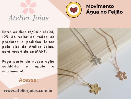 Campanha solidária: Atelier Joias apoia novamente o MANF