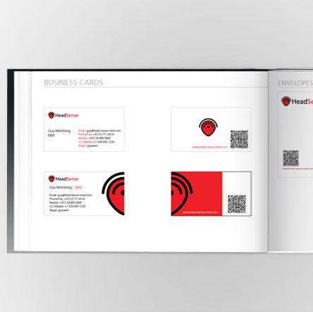 Headsense- Rebranding