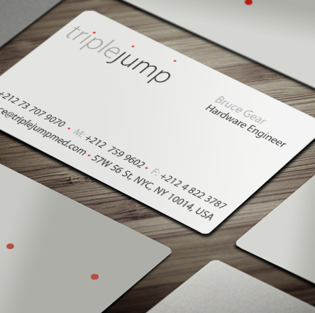 TripleJump-Medical, Branding