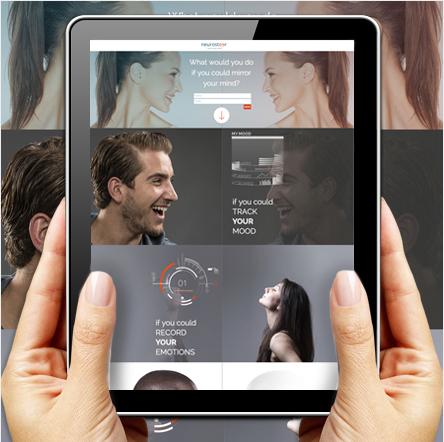 Neurosteer- Medical, branding, web design